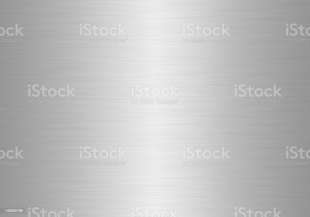 Silvery metal texture full background stock photo