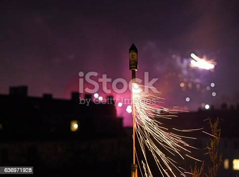 Silvester rocket