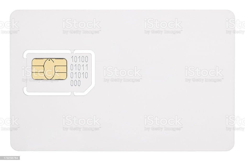 Sim card. stock photo