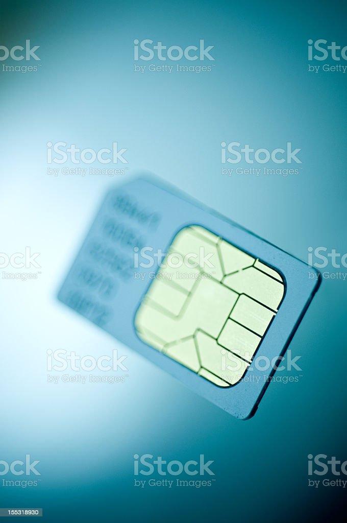 Sim Card Technology stock photo