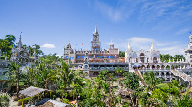 simala kerk shrine - cebu stockfoto's en -beelden