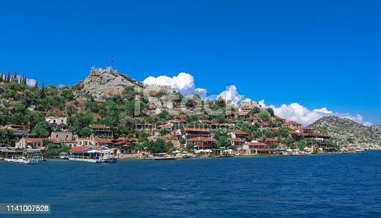 istock Simena Kalesi in the Kekova Islands. Near Antalya, Turkey. 1141007528