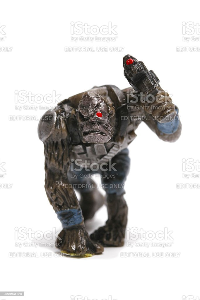 Simian War royalty-free stock photo