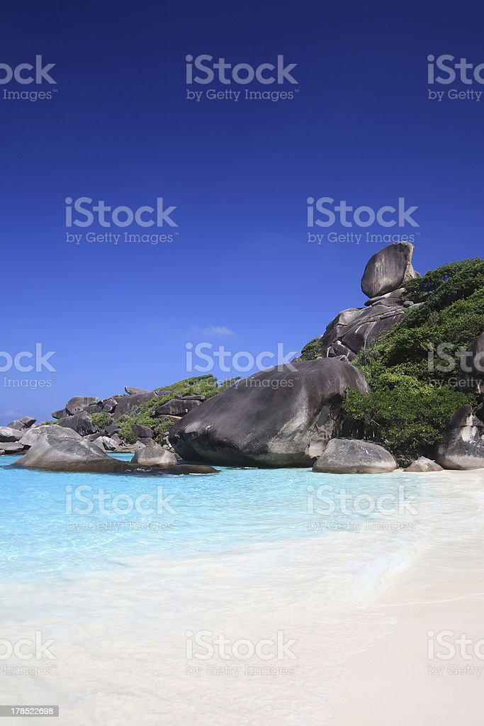 Similan Islands, Andaman Sea. royalty-free stock photo