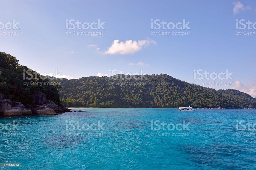 Similan islands. Phuket. Thailand royalty-free stock photo