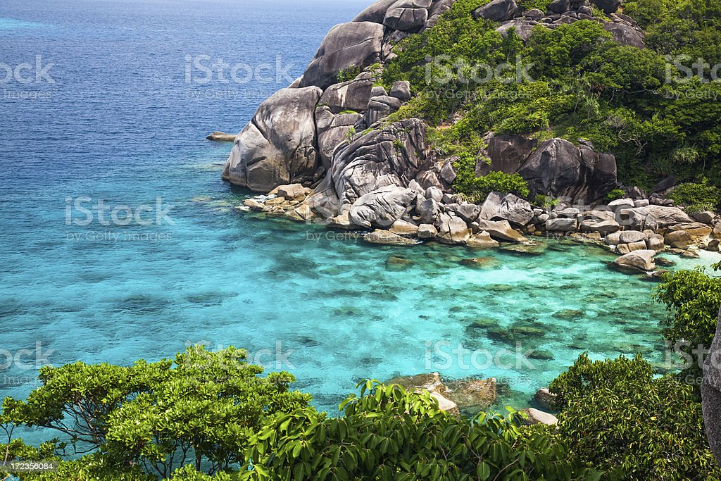 Similan islands. Thailand royalty-free stock photo