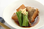煮野菜、魚、日本料理