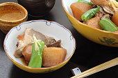 野菜と魚の酒、煮和食