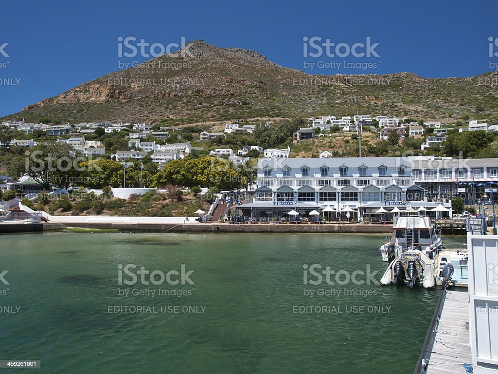 Simon's town harbour royalty-free stock photo