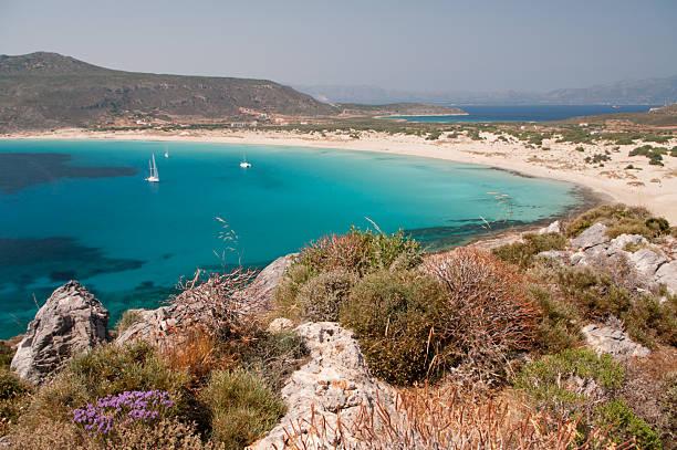 Simos Beach, Elafonisos Island, Griechenland – Foto