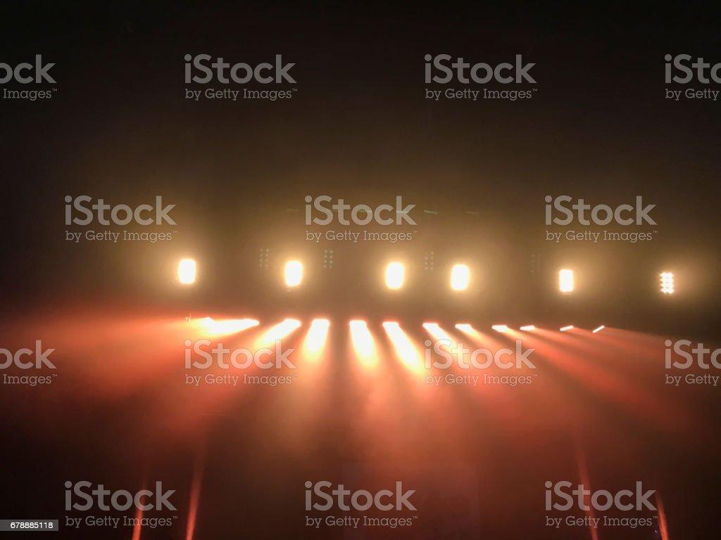 Sık kullanılan her türlü sanatsal performansları için kırmızı renk tonları, basit ve genel Haritayı ışıkları. royalty-free stock photo