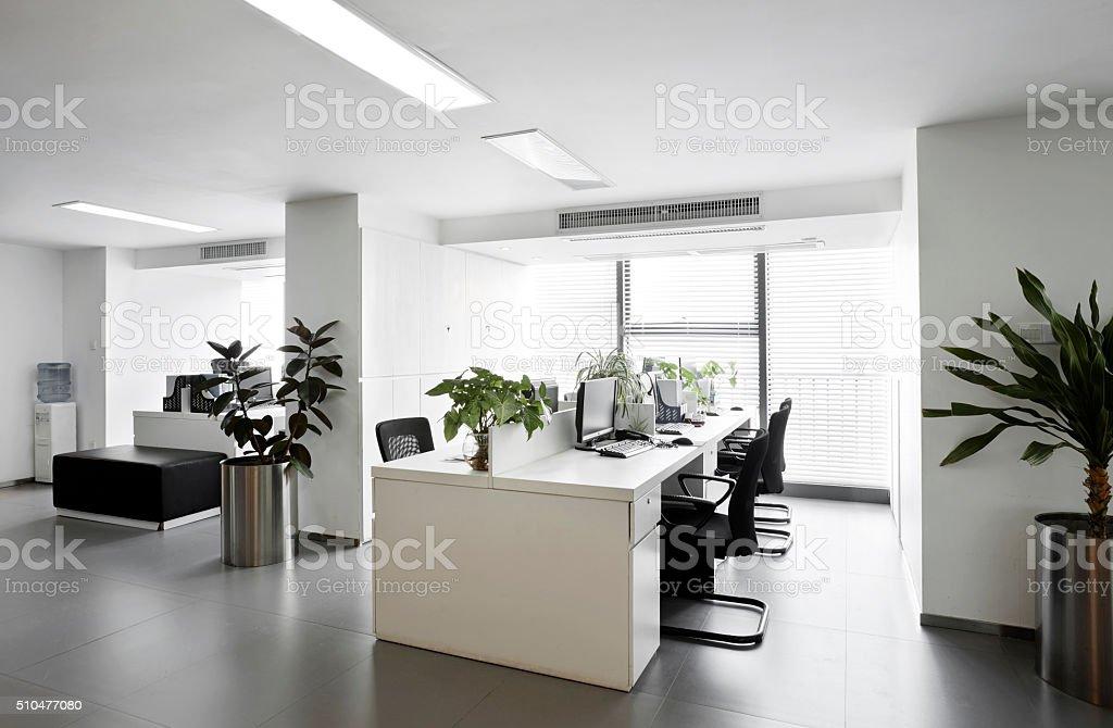 Simple y elegante ambiente de oficina foto de stock libre de derechos
