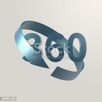 istock Simple and various 3d arrows 955631502