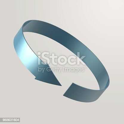 istock Simple and various 3d arrows 955631604
