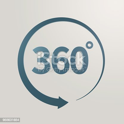 istock Simple and various 3d arrows 955631654