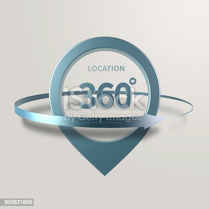 istock Simple and various 3d arrows 955631656