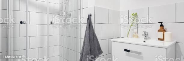 Simple bathroom with shower picture id1158461425?b=1&k=6&m=1158461425&s=612x612&h=jjw9us59vwodu9obmb2wiy xr5ewldaxkofxqo2mtpm=