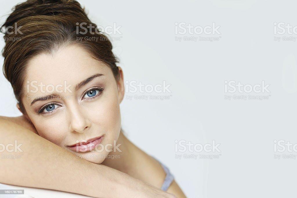 Simple beauty stock photo