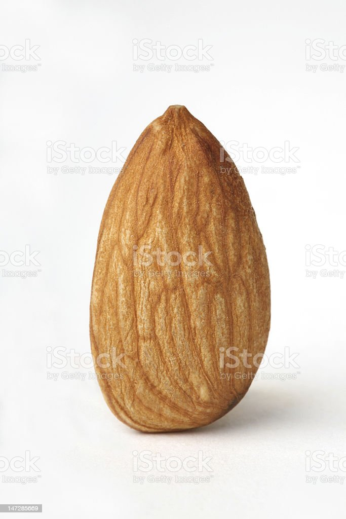 Simple blanqueado de almendras. - foto de stock