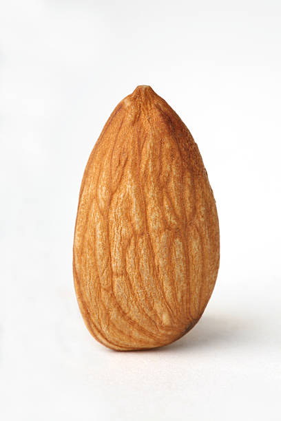 Simple Blanched Almond... stock photo