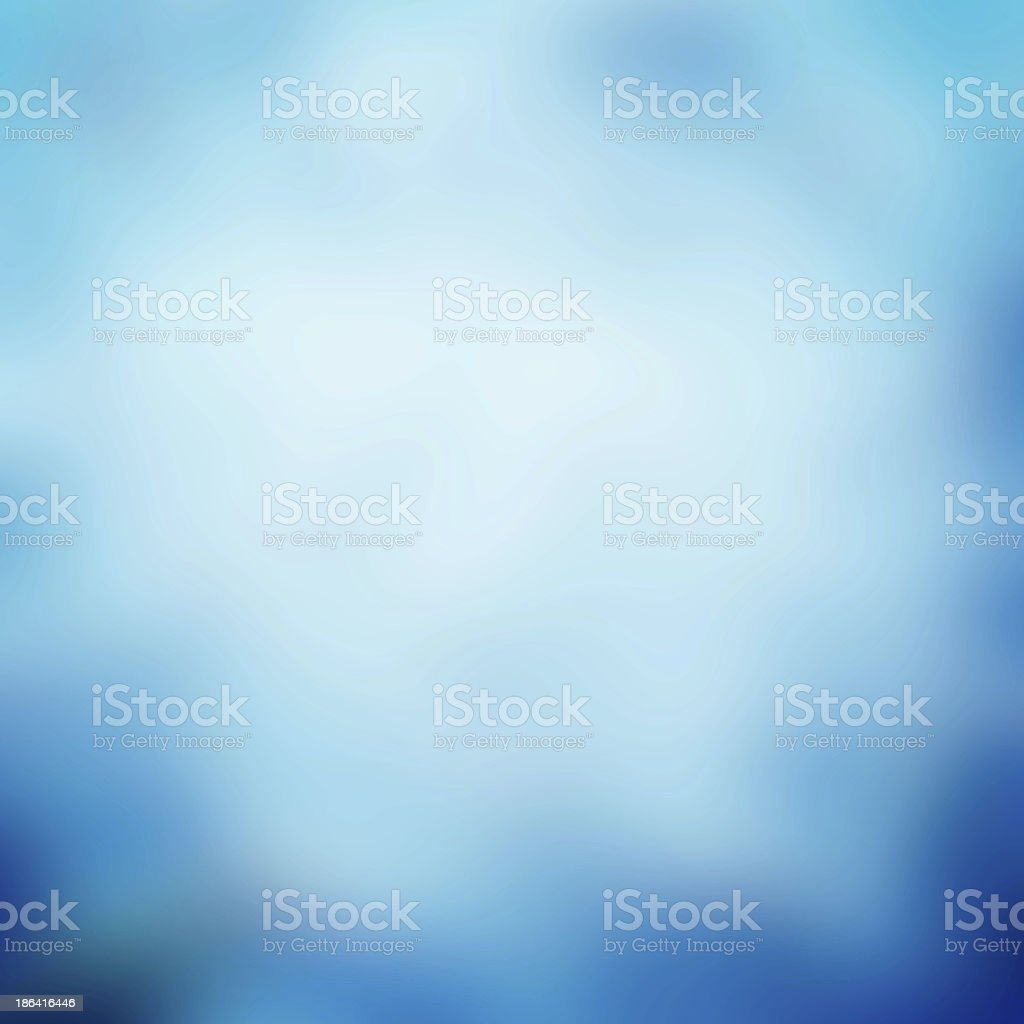 Simple blue background stock photo