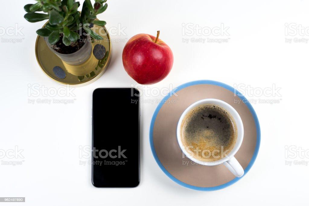 Instalação de pequeno-almoço simples - Foto de stock de Alemanha royalty-free