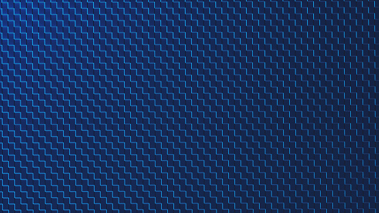 Simple carbon fibre background pattern magnified  This image represents a conceptual design in the domain of IT, cyberspace or Science fiction and is a made up 3D concept render.