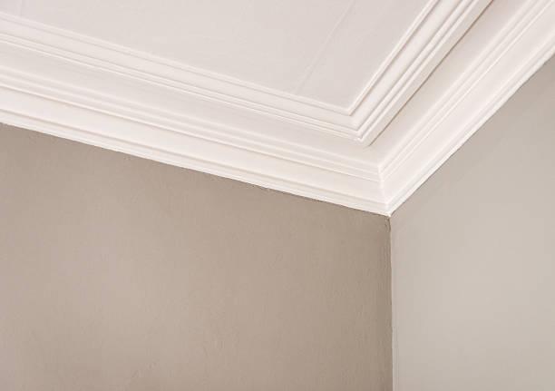 Simple corniche au plafond - Photo