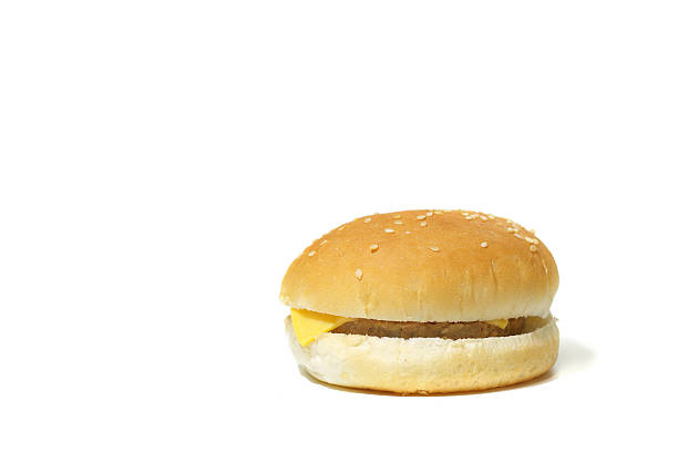 simple cheeseburger - cheeseburger 個照片及圖片檔
