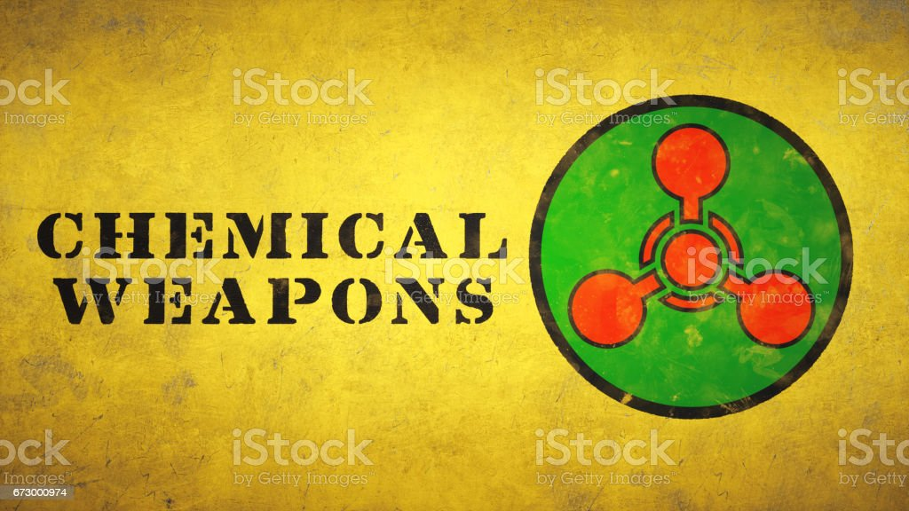 Simple Chemical Weapons Symbol Stock Photo More Pictures Of