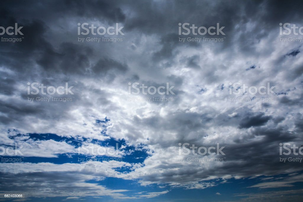 A simple cloud background as shot in Banff, Alberta. royalty-free stock photo