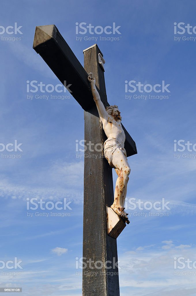 simple cross royalty-free stock photo