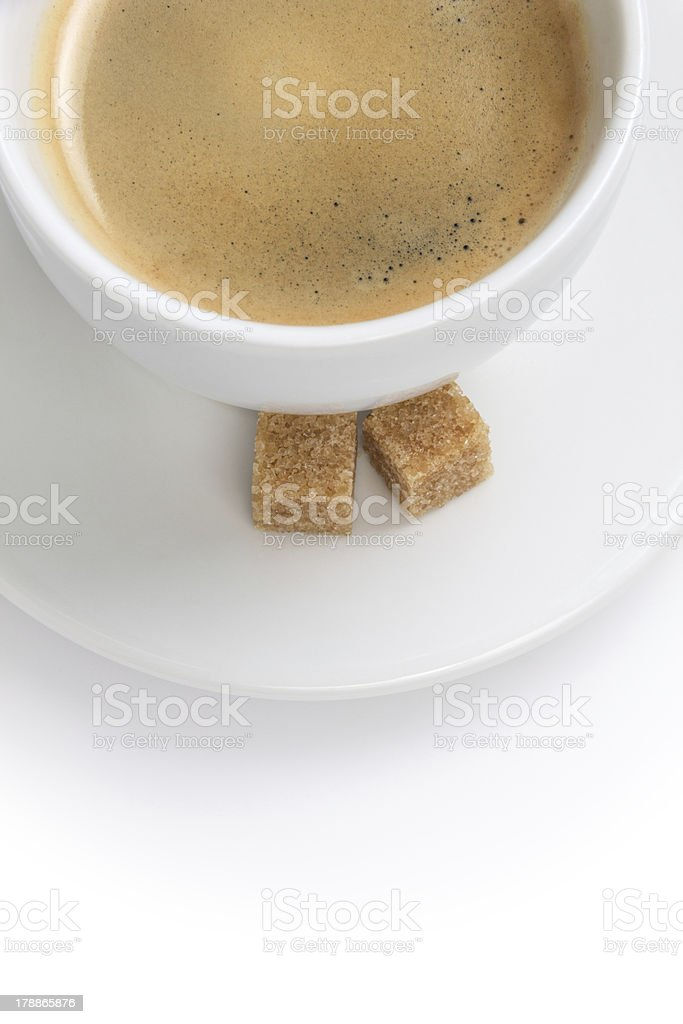 simple cup of espresso royalty-free stock photo