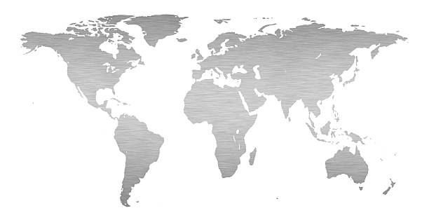 Royalty free world map gray pictures images and stock photos istock simple gray world map on a white background stock photo gumiabroncs Image collections