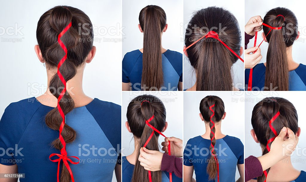 Simple Hairstyle Tutorial Stock Photo Download Image Now Istock
