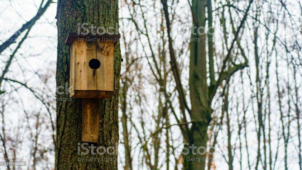 Handmade Bird Nesting Box