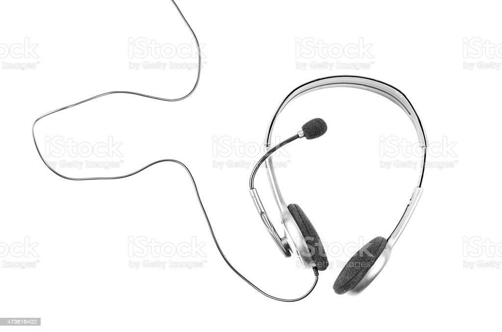 simple headset on white background stock photo more pictures of Best Phone Headset for Office simple headset on white background stock photo more pictures of 2015 istock