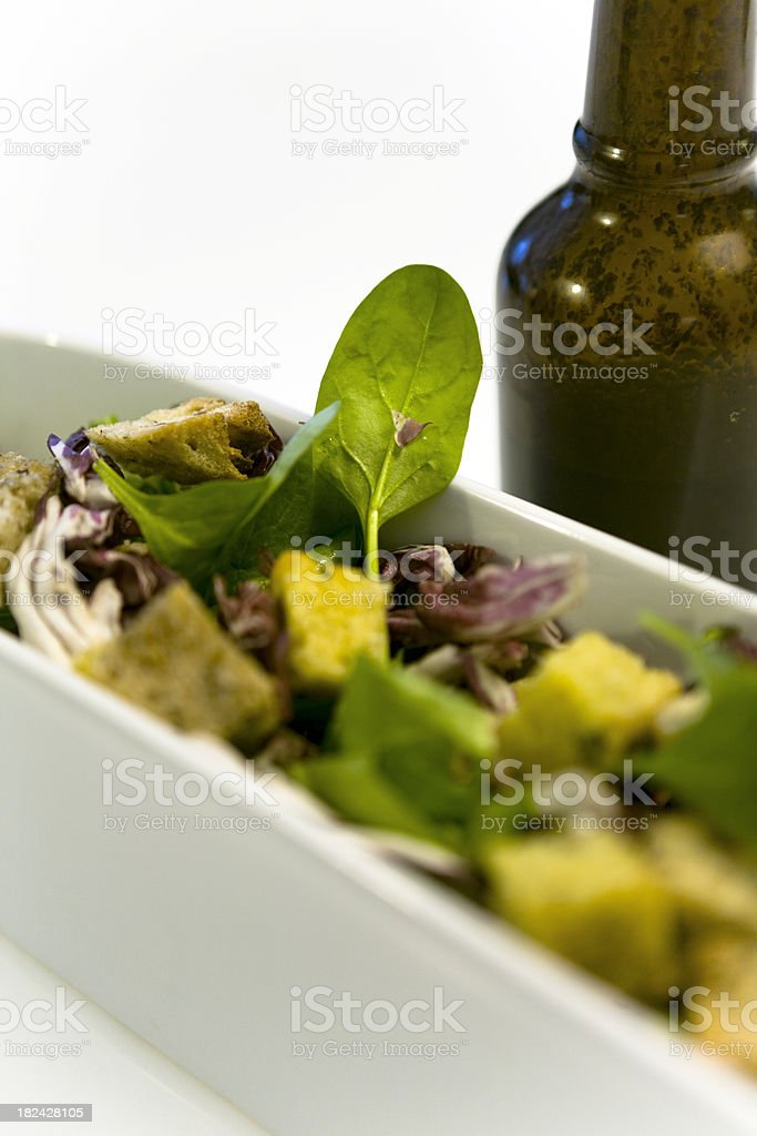 Simple Healthy Salad royalty-free stock photo