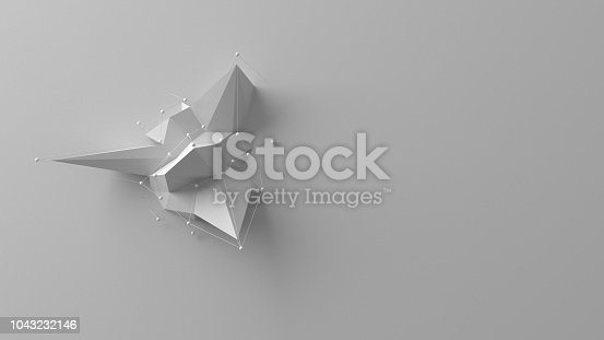 687269072istockphoto Simple low poly background 1043232146