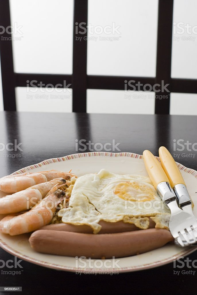 Simple Meal - Royalty-free Barbecue Stock Photo