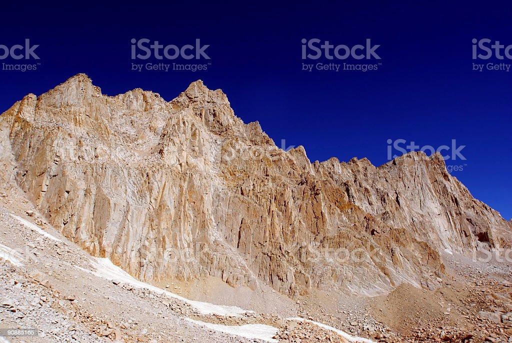 simple mountain royalty-free stock photo