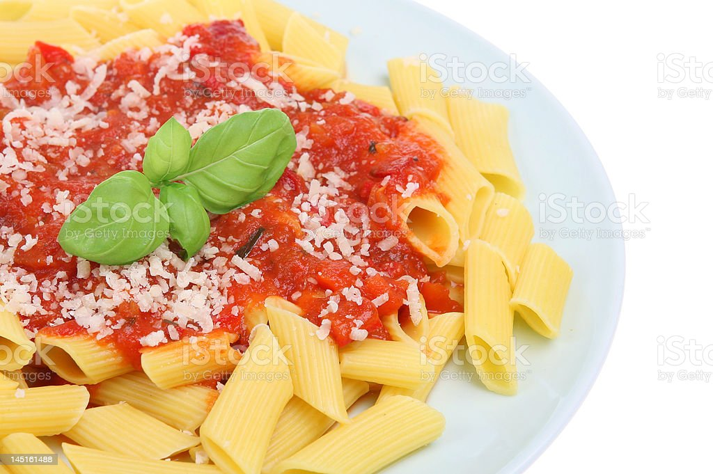 Simple Pasta royalty-free stock photo