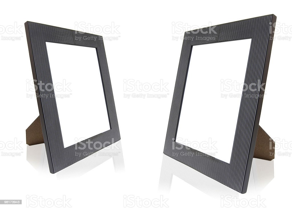 Simple Photo Frames royalty-free stock photo