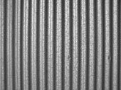 Simple photo of corrugated steel