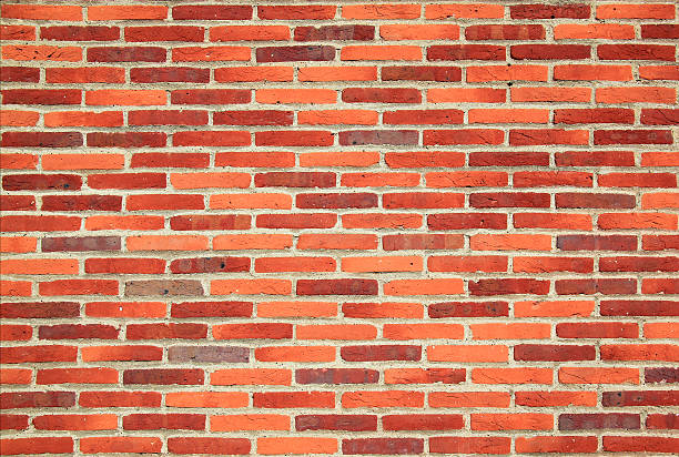 Orange Background House Brick Wall Side View Pictures Images And Stock Photos