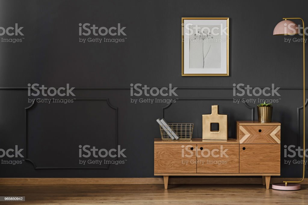 Simple retro living room - Royalty-free Apartment Stock Photo