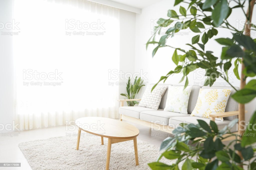 Simple room with nobody - foto stock