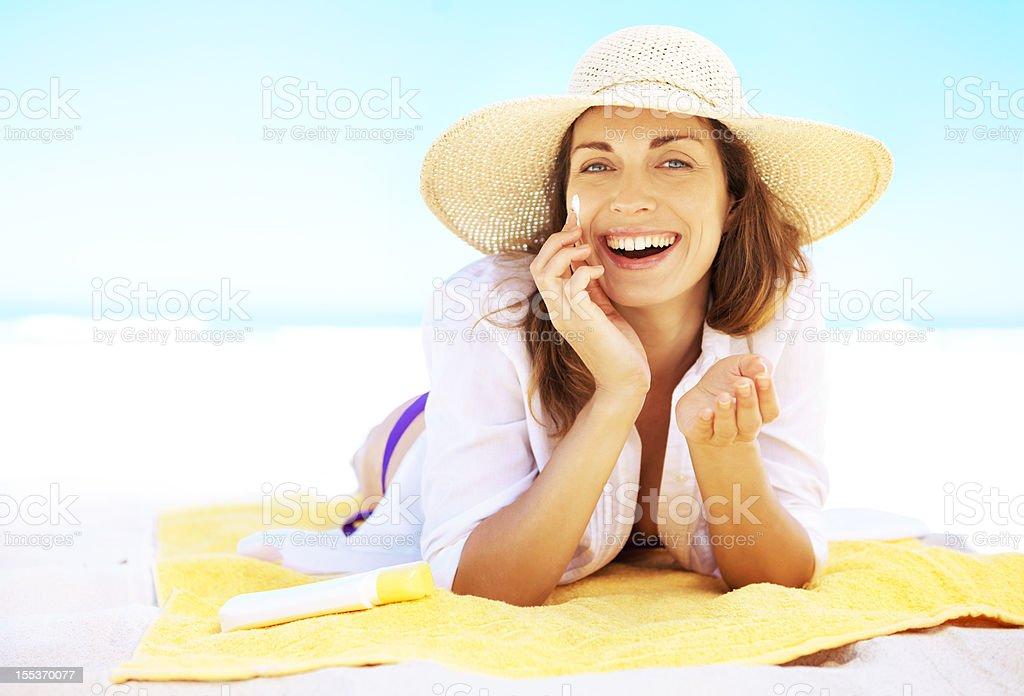 Simple skincare royalty-free stock photo