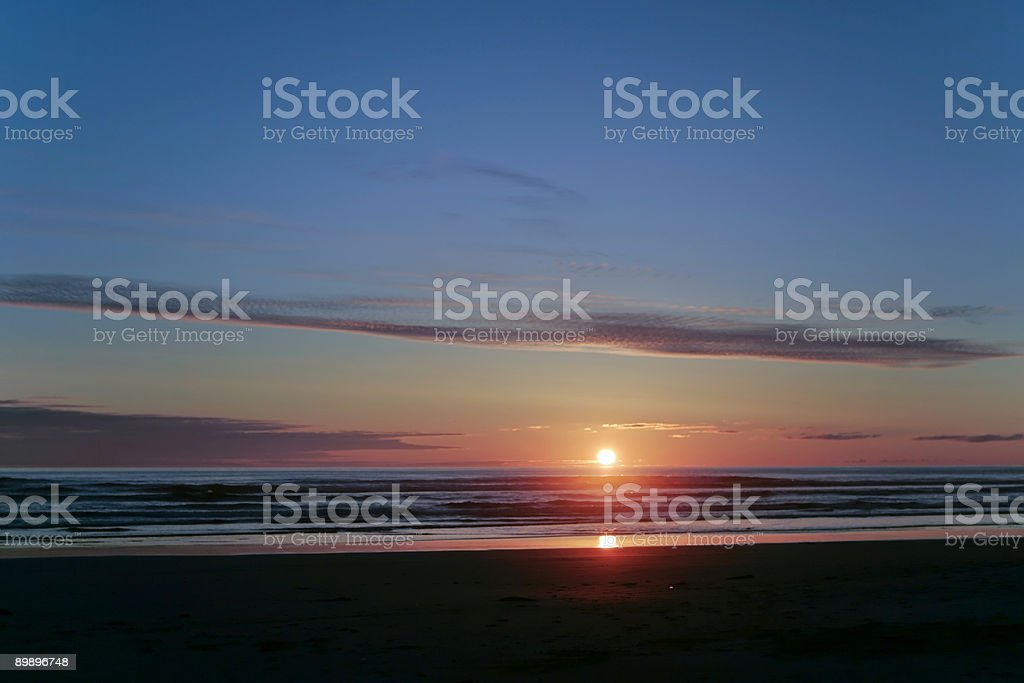 Simple Sunset royalty-free stock photo
