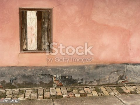 Part of an old patinated rural house exterior from the Hungarian lowlands.Take a look at my related lightbox: